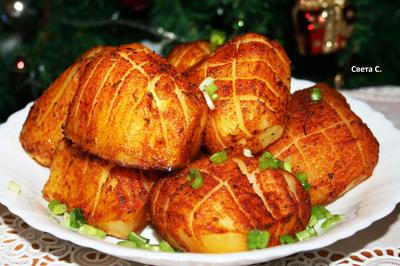 Запеченный картофель; Сибирский ананас. Рецепт приготовления с пошаговыми фотографиями