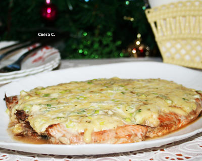 Голец, запеченный с сыром. Пошаговый рецепт приготовления с фото