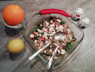 Хорватский фасолевый салат. Попробуй приготовить — и будешь вкусу рад - пошаговый рецепт приготовления с фото