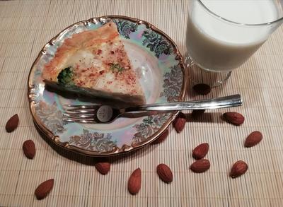 Киш с брокколи, цветной капустой и моцареллой. Пошаговый рецепт с фото
