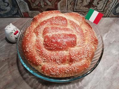 С миру по. хлебушку. Фокачча с пармезаном и итальянскими травами - пошаговый рецепт приготовления с фото