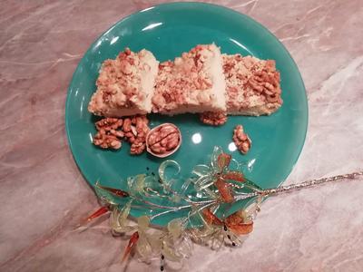 Насыпной пирог с ананасами - пошаговый рецепт с фото