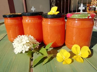 Томатный соус на зиму. Рецепт заготовки с пошаговыми фото