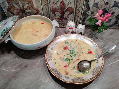 Сливочный суп с цветной капустой и сезонными овощами. Пошаговый рецепт приготовления с фото