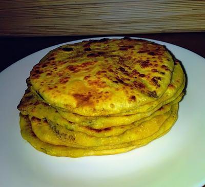 Алу паратха - индийские лепешки с картофельной начинкой. Пошаговый рецепт с фото