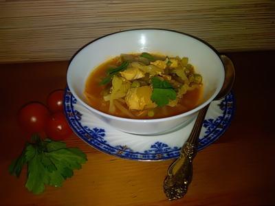 Диетический куриный супчик - пошаговый рецепт приготовления с фото