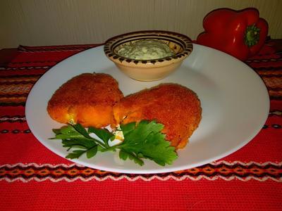 Чушка бюрек - запеченный перец, фаршированный брынзой, по-болгарски. Рецепт с пошаговыми фото