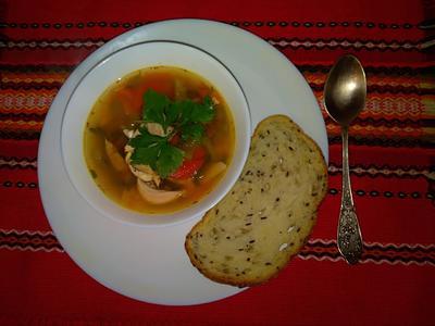 Болгарский суп; Врачанска саламура. Пошаговый рецепт с фото