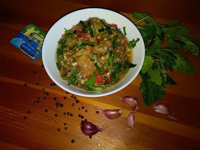 Мелидзана - овощная закуска из Греции. Пошаговый рецепт с фото