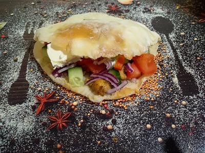Греческая пита. Пошаговый рецепт с фото