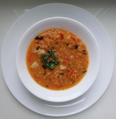 Аппетитный турецкий чечевичный суп - вкус Востока - пошаговый рецепт приготовления с фото