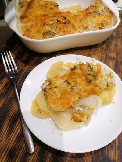 Картофельная запеканка - пошаговый рецепт приготовления с фото