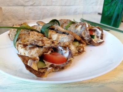 Бризоль с овощами - пошаговый рецепт приготовления с фото