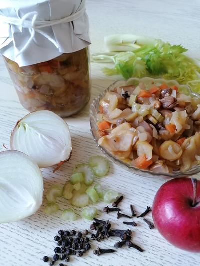 Чатни из яблок и сельдерея - пошаговый рецепт приготовления с фото