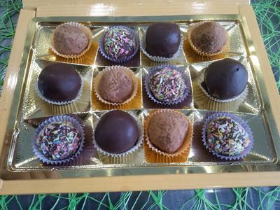 Постные домашние конфеты. Пошаговый рецепт с фото