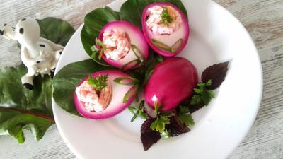 Яйца, маринованные в свекольном соке - пошаговый рецепт приготовления с фото
