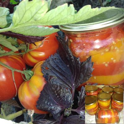 Консервированные помидоры на зиму - пошаговый рецепт приготовления с фото
