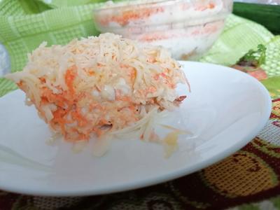 Легкий салат с яблоком и морковью - пошаговый рецепт приготовления с фото