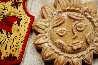 Пряник печатный с начинкой традиционный. Пошаговый рецепт с фото