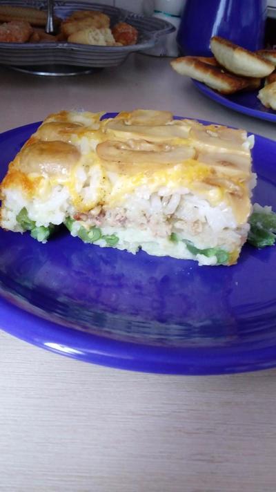 Пирог-запеканка - любимое быстрое блюдо - пошаговый рецепт приготовления с фото