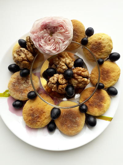 Печенье из грецких орехов. Пошаговый рецепт приготовления с фото
