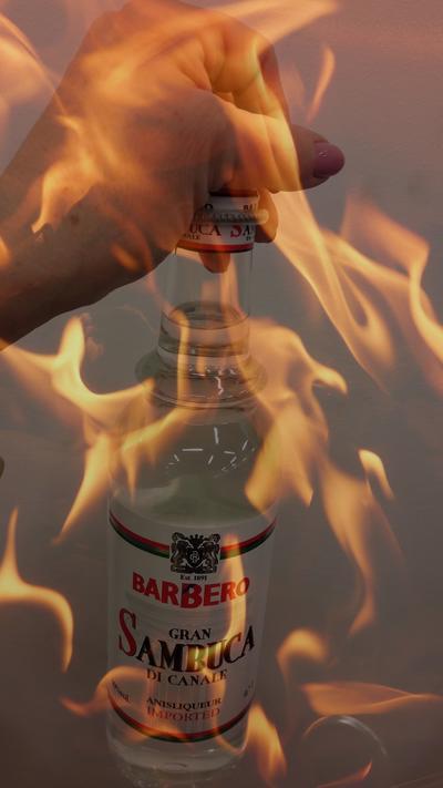 Огненная Самбука. Рецепт приготовления напитка с фотографиями