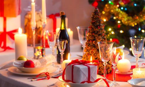 Идеи для сервировки новогоднего стола