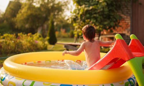 Размер детского бассейна