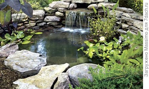 Ландшафтный дизайн с водоёмом: искусственные пруды на участке загородного дома, пластиковый пруд своими руками на даче, виды и формы водоёмов, фото