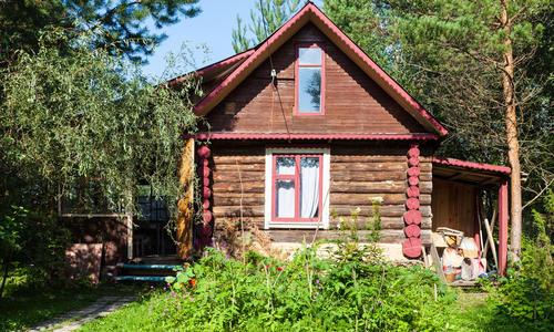 Переделка деревенского дома до и после
