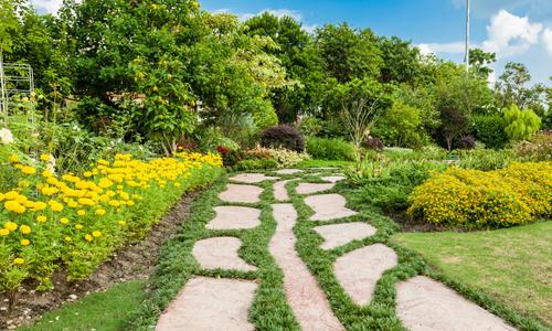 Красивые садовые дорожки своими руками