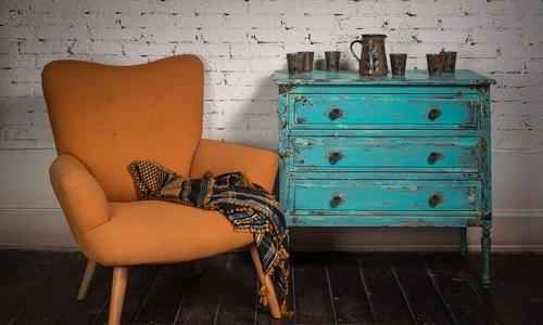 Как покрасить мебель морилкой