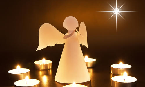 Подделка ангел рождества