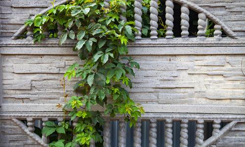 Заливной забор из бетона
