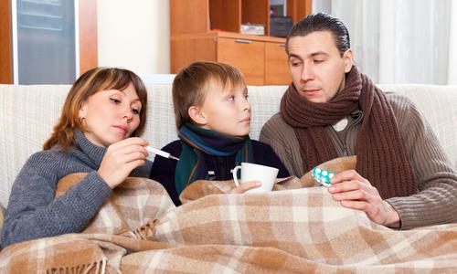Народные средства от гриппа и простуды в домашних условиях