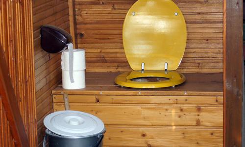 Самый лучший дачный туалет