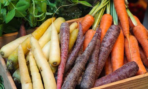 Настоящий цвет моркови