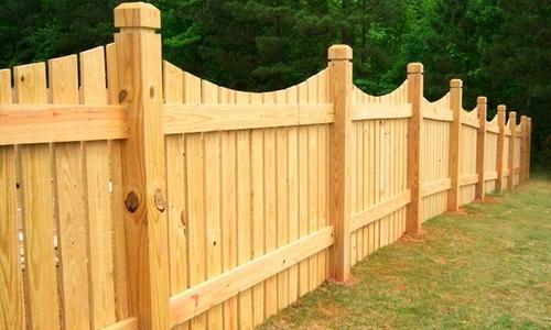 Забор из досок своими руками на даче