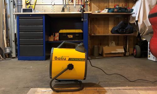 Электропушка для гаража