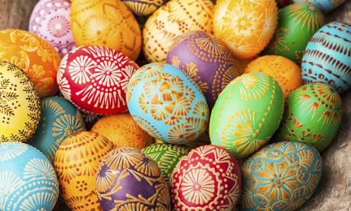 f826cd-nomark Как украсить яйца к Пасхе: 27 оригинальных идей декора и росписи