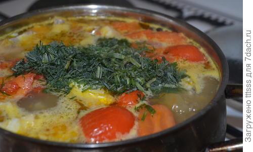 Вкусный рыбный суп из трески