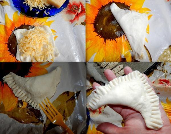 конвертики с сыром