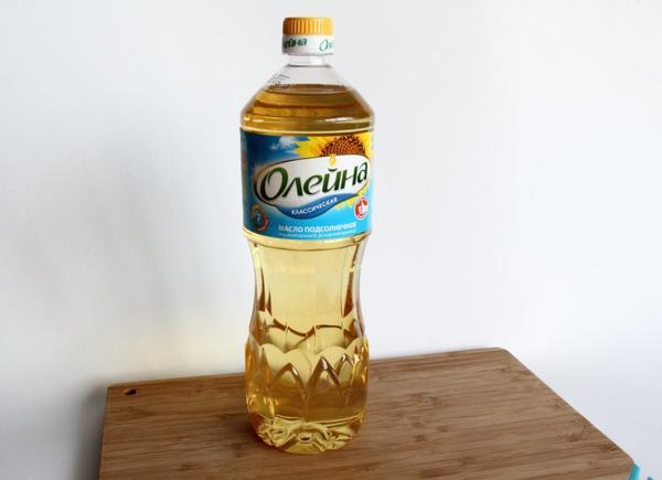Подсолнечное масло Олейна