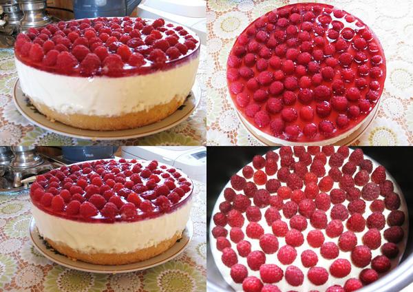 Торт Малиновое наслаждение.