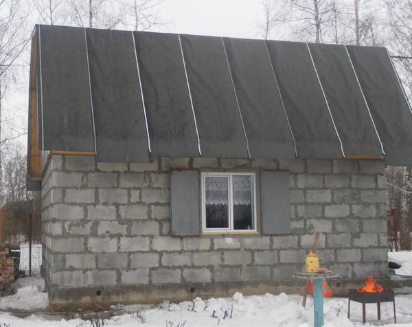 1 строительный сезон завершен