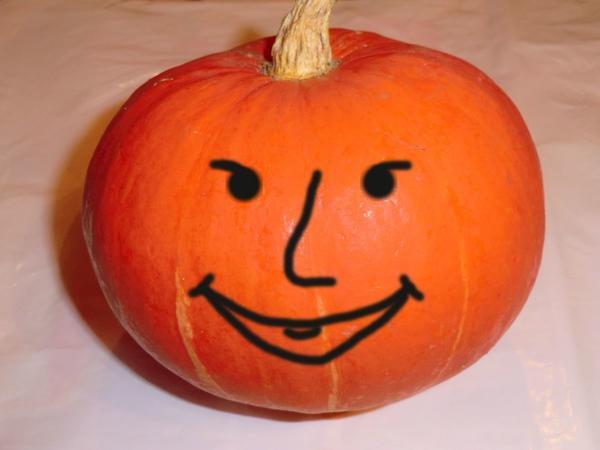 Оранжевое чудо-улыбка.