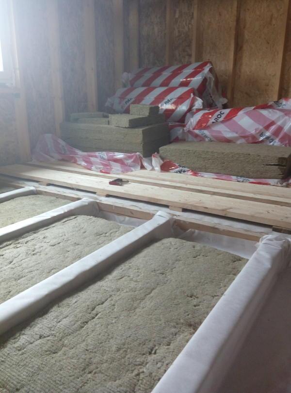 Перекрытие первого этажа