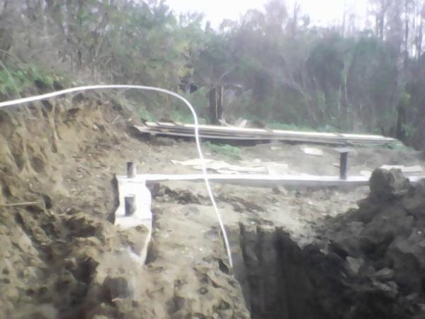начало строительных работ-закладываем фундамент