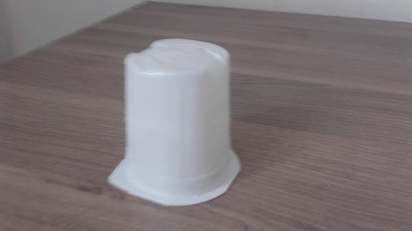 Баночка из-под йогурта