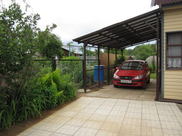 Дачная парковка